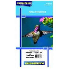 Papel Glossy A4 Cx C/20 Fls De 120 Grs