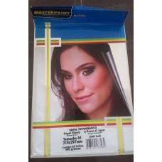 Papel Foto Masterprint C/ Ima A4 C/05 Fls