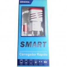 CARREGADOR V8 3.1A VERMELHO