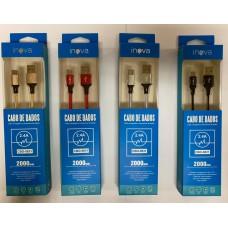 CABO USB X TYPE C DADOS/CARGA 2M INOVA