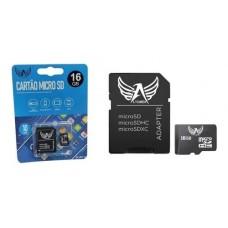 CARTAO DE MEMORIA MICRO SD 16GB